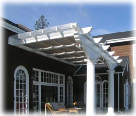 outdoor room pergola awnings living htm patio awning