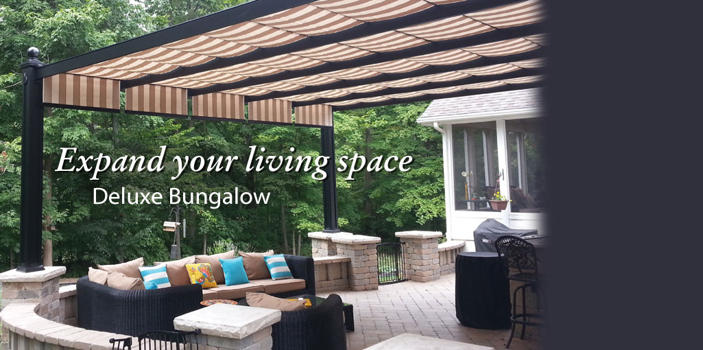 ShadeTree Canopy ShadeTree ... & Retractable Pergola Canopies u0026 Awnings