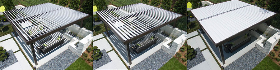 Equinox Louvered Roof System Shadetree Canopies