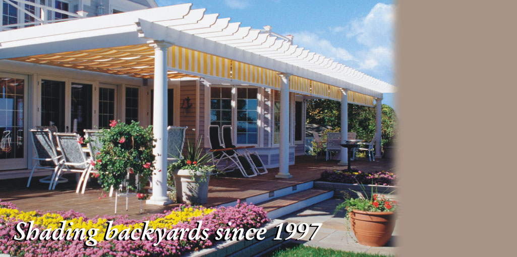 Canopy Retractable Deck Awnings Shadetree 174 Canopies