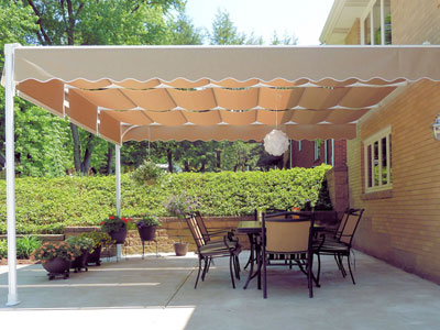 The Shadetree Capri & Residential Retractable Canopies and Shade Canopies | Shadetree ...