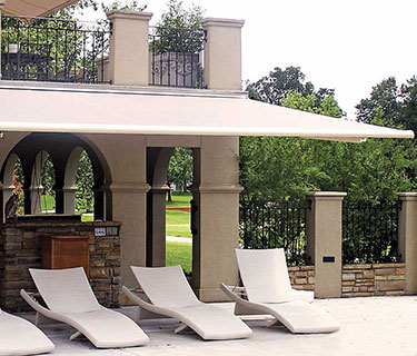 Retractable Fabric Awnings Shadetree Canopies